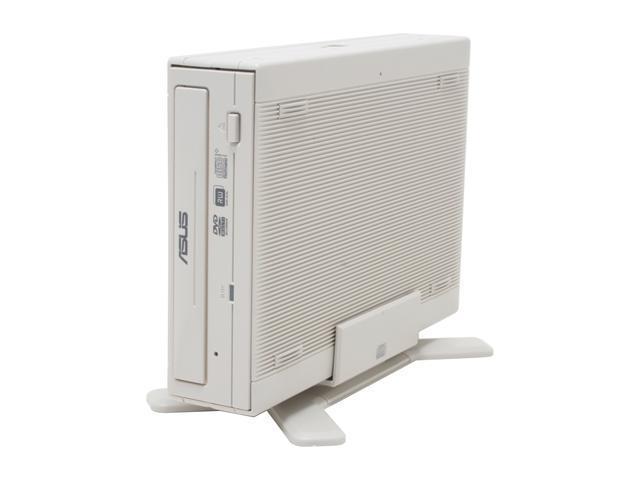 ASUS IEEE 1394 /  USB 2.0 16X DVD±R External DVD Burner With 5X DVD-RAM Read Model DRW1608P2S-D