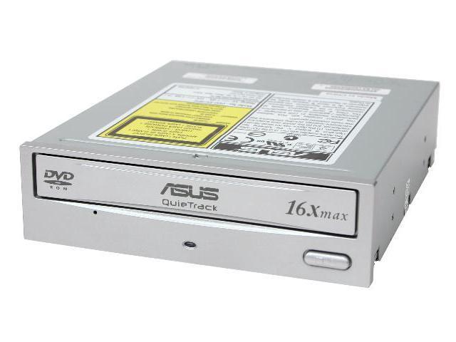 ASUS Silver ATAPI DVD-ROM Drive Model DVD-E616P2S