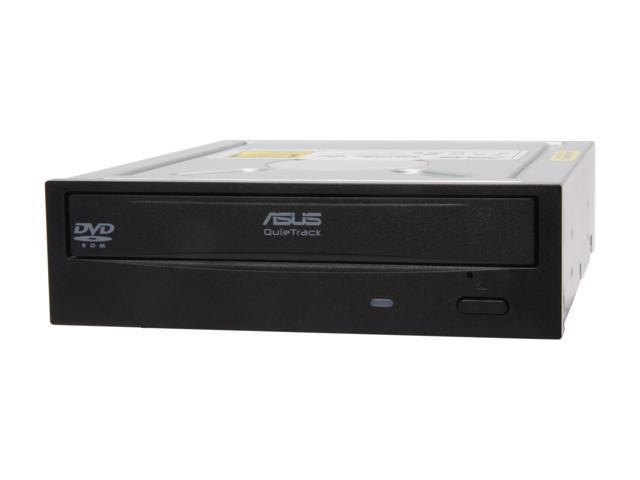 ASUS Black SATA DVD-ROM Drive Model DVD-E818A2T