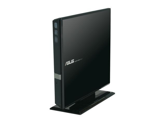 ASUS USB 2.0 External Slim DVD±R/RW Drive Model SDRW-08D1S-U BK