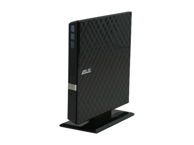 ASUS USB 2.0 8X Slim external DVD burner Model SDRW-08D2S-U/D-BK