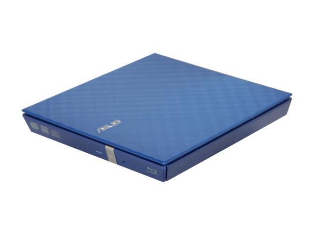 ASUS USB 2.0 External Slim Blu-ray Burner Model SBW-06C1S-U/DBLU/G