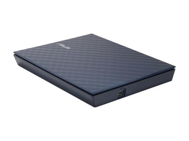ASUS USB 2.0 External Blu-ray Combo Model SBC-06D1S-U Blue