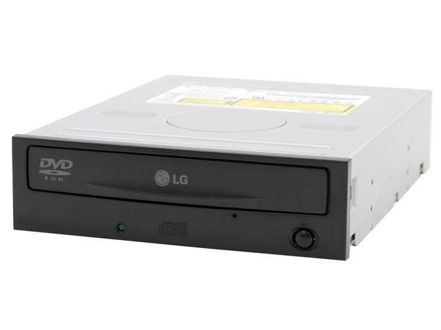 LG Black E-IDE/ATAPI DVD-ROM Drive Model GDR-8163B