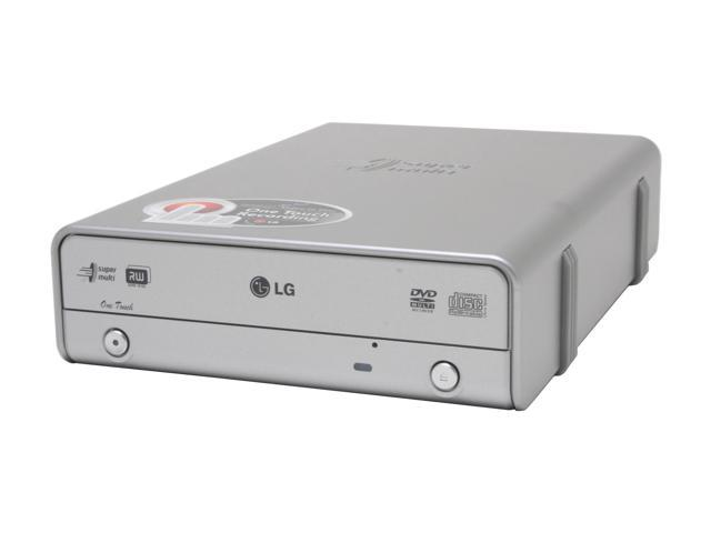 LG USB 2.0 16X DVD±R External DVD Burner With 5X DVD-RAM Write, AV Capture Model GSA5169D