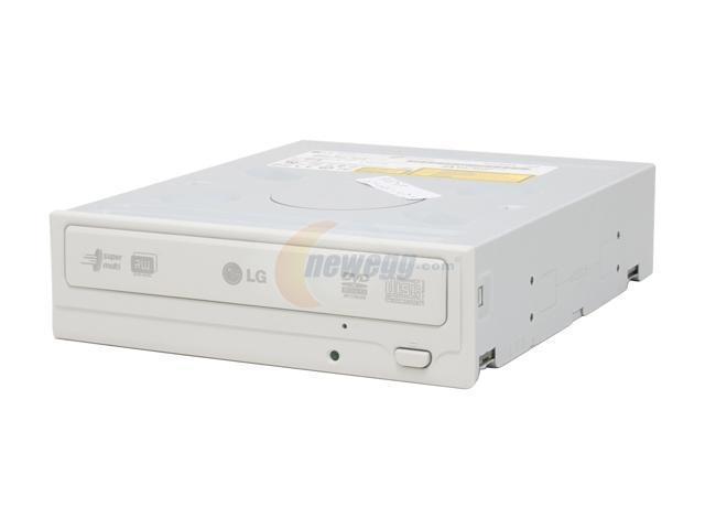 LG 18X DVD±R Super-Multi  DVD Burner With 12X DVD-RAM Write Beige EIDE/ATAPI Model GSA-H42N-BG - OEM