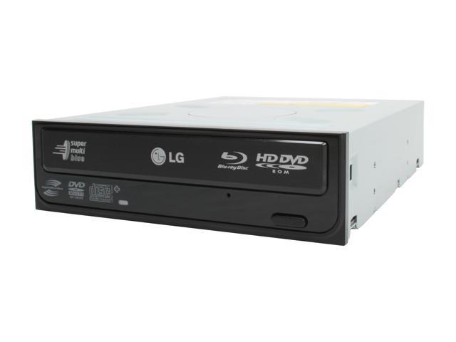LG Black Blu-ray/HD DVD-ROM & 16X DVD±R DVD Burner SATA Model GGC-H20L