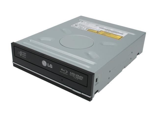 LG Black Super Multi Blu-ray Disc Burner & HD DVD-ROM Drive SATA GGW-H20L LightScribe Support
