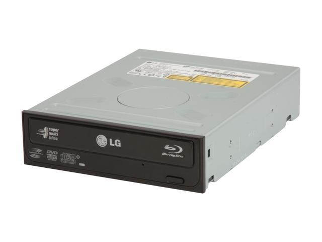 LG Black 8X BD-ROM 16X DVD-ROM 40X CD-ROM SATA Internal Combo LG Blu-ray Reader & 16X LightScribe DVD±R DVD Burner