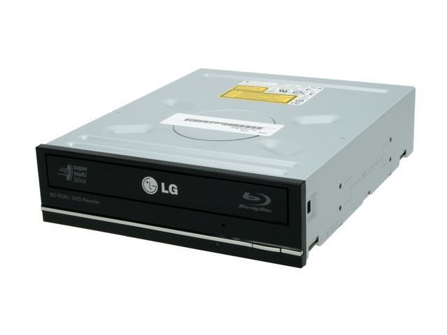 LG Black Blu-ray Disc Combo SATA Model UH10LS20 LightScribe Support
