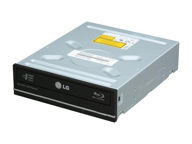LG Black Blu-ray Disc Combo SATA Model CH10LS20 R LightScribe Support