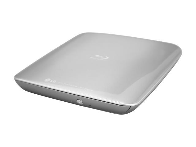 LG USB 2.0 Super Multi Blue Portable with 3D Blu-ray Disc Playback & M-DISC Support  Model BP40NS20