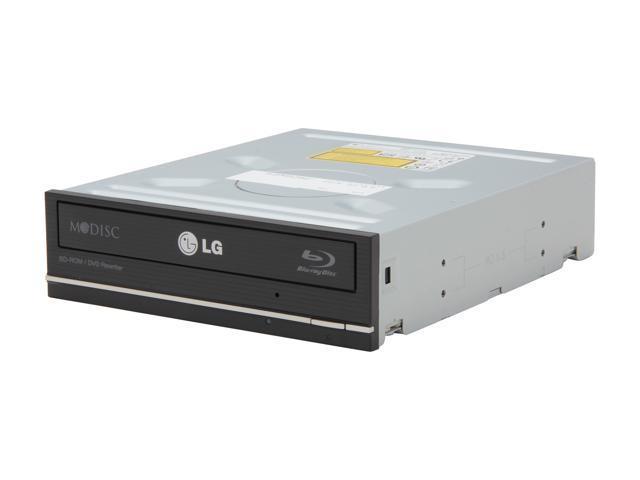 LG Black H/H BD-ROM / DVD Rewriter SATA Model CH10LS28