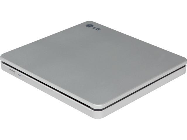 LG USB 2.0 Ultra Slim Slot Load External DVDRW Model GP70NS50