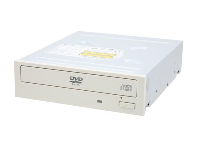 TEAC White IDE DVD-ROM Drive Model DV516E/S