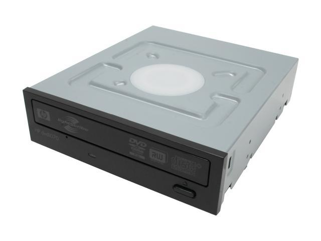 HP 20X DVD±R DVD Burner with LightScribe Black SATA Model DVD1070i LightScribe Support