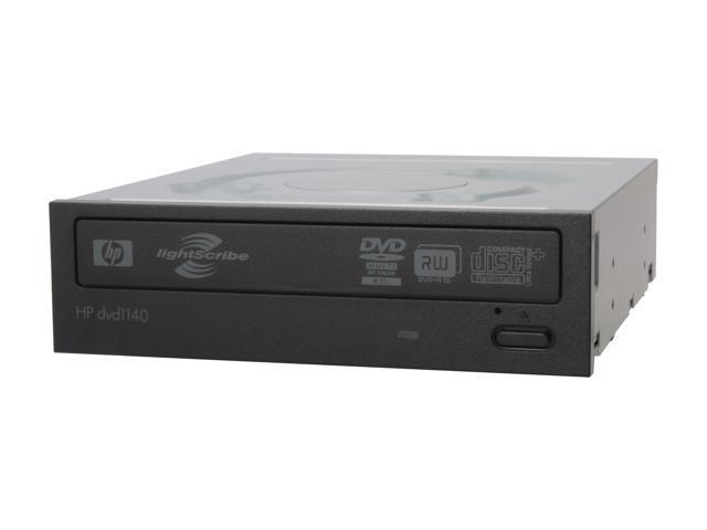 HP 22X DVD Burner Black IDE Model HP 1140i LightScribe Support