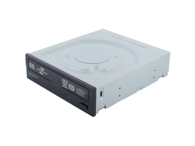 HP 24X Multiformat DVD Burner Black SATA Model 1270i LightScribe Support