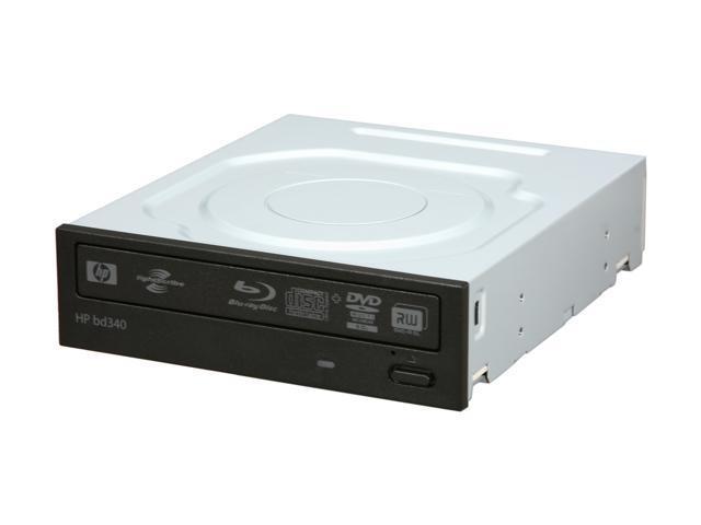 HP Black Blu-ray Burner SATA bd340i LightScribe Support