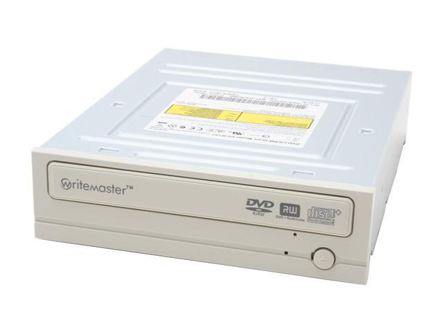 SAMSUNG 16X DVD±R DVD Burner With a black Panel Beige ATA/ATAPI Model SH-W162Z / BEWN