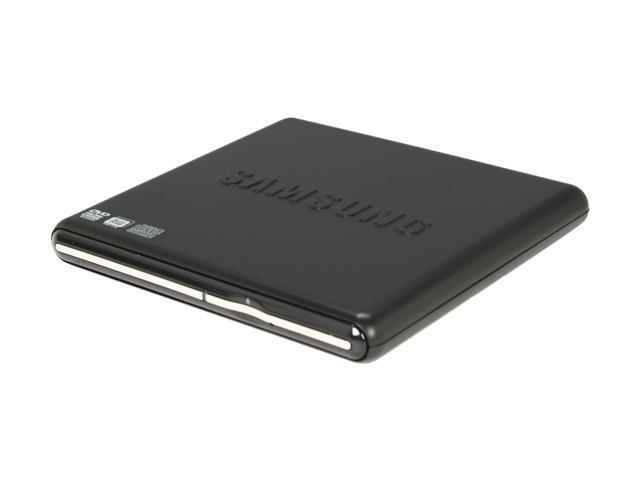 SAMSUNG USB 2.0 Slim External DVD Writer (Black) Model SE-S084D/TSBS