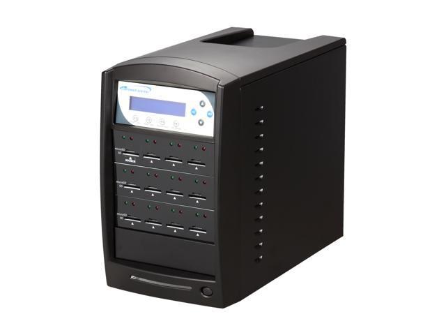 VINPOWER 1 to 11 Secure Digital (SD) / Micro SDHC (MicroSD) Flash Memory Duplicator Black Model SDShark-11T-BK