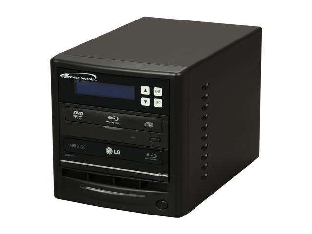 VINPOWER Black 1 to 1 Econ Series SATA Blu-ray/DVD/CD Duplicator + BD-ROM Model Econ-S1T-BD-NR