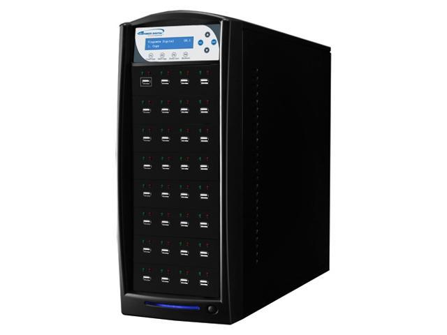 VINPOWER Black 1 to 31 128M Buffer Memory USBShark USB Flash Copy Tower Duplicator Model USBSHARK-31T-BK