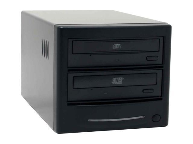 Spartan Black 1 to 1 CD Duplicator With Audio Track Edit Model DM-ILY-CDBKP(B )BK