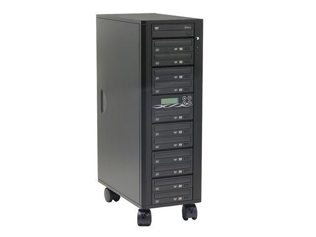 Spartan Black 1 to 11 64M Buffer Memory DVD Duplicator W/ SONY Burner + 80GB + USB port Model DM-ILY-ADS1611HU(B)BK