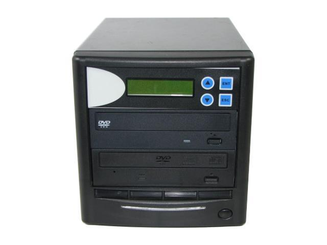 Spartan Black 1 to 1 DVD Duplicator w/ Pioneer Burner + USB port Model DM-ILY-DVDBKP(B)BK