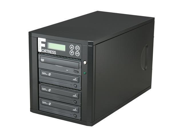 Spartan Black 1 to 3 CD/DVD Duplicator Model D03-SSPDLPRO