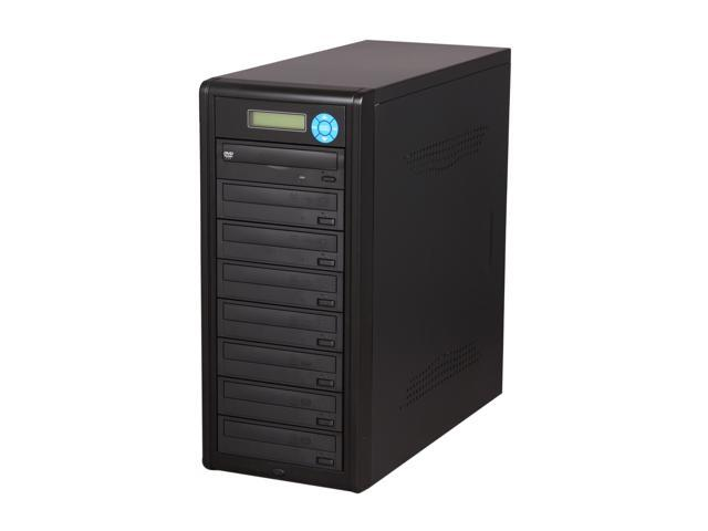 Spartan Black 1 to 7 Target ATUM SATA DVD/CD Duplicator Model D07AOVSBASSO