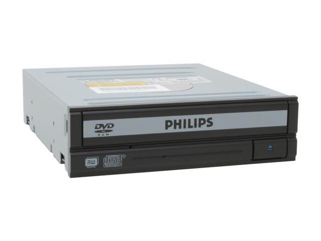 PHILIPS 16X DVD±R DVD Burner With 5X DVD-RAM Write 2-Tone ATAPI/E-IDE Model SPD2410BD/17
