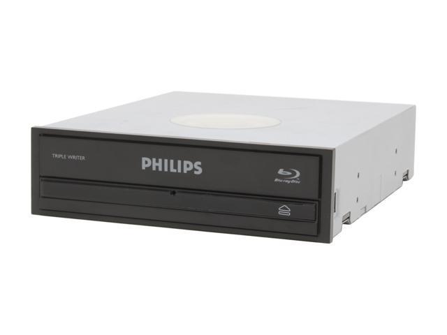PHILIPS Black 2X Blu-ray DVD Burner with Free 25GB Blu-ray Disc SATA SPD7000BD