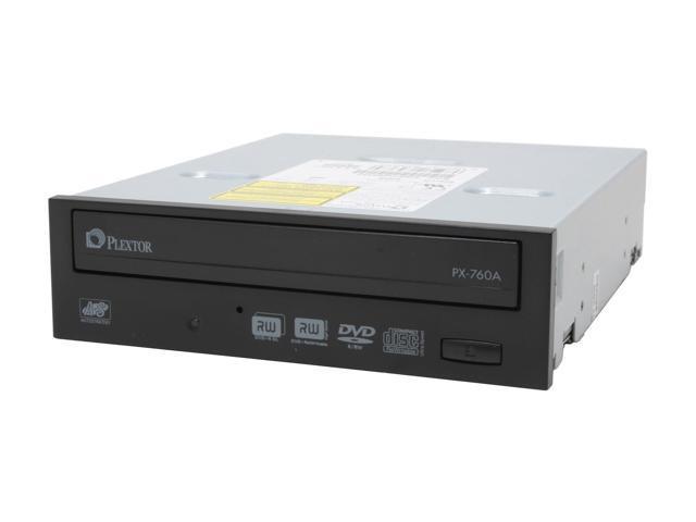 PLEXTOR 18X DVD±R DVD Burner included Replaceable beige front bezel Black E-IDE/ATAPI Model PX-760A/SW-BL