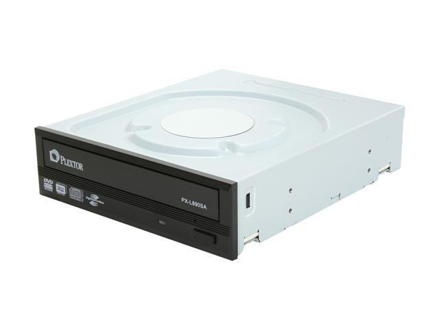 PLEXTOR 24X Internal DVD Super Multi Drive Black SATA Model PX-L890SA LightScribe Support - OEM
