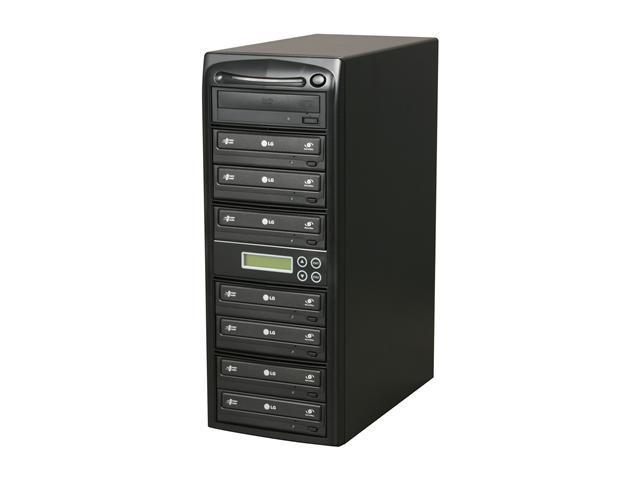 Systor 1 to 7 Professional CD/DVD Duplicator Model ECO07