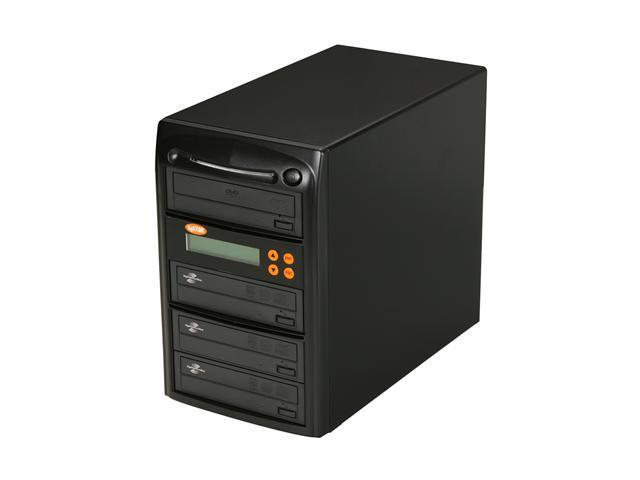 Systor 1 to 3 Economic Series CD/DVD Duplicator LightScribe Support Model ECOLS03