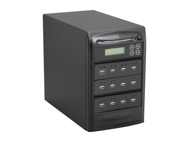 Systor Black 1 to 11 USB Drive Duplicator Model SYS11USB