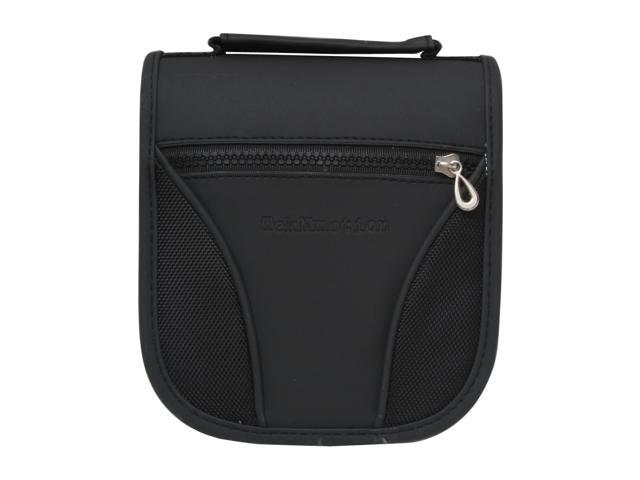 TekNmotion TM-CD48B1 48 CD/DVD Black on Black Wallet