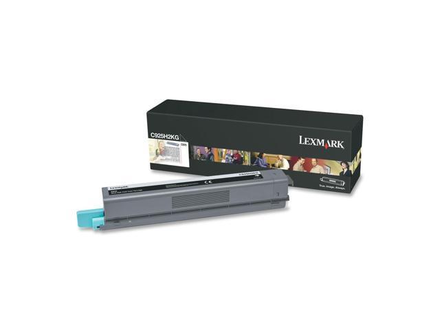Lexmark C925H2KG High Yield Toner Cartridge