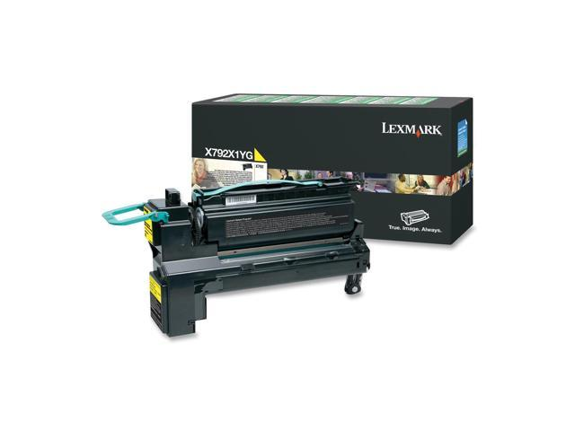 Lexmark X792X1YG High Yield Toner Cartridge