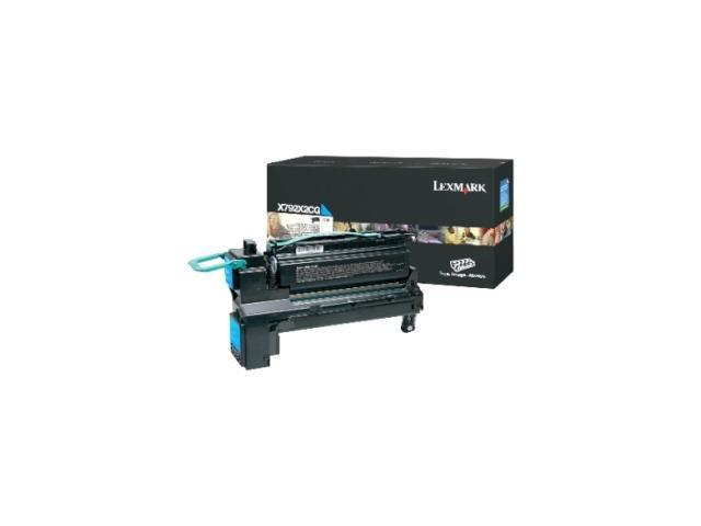 Lexmark X792X1YG Toner Cartridge - Cyan