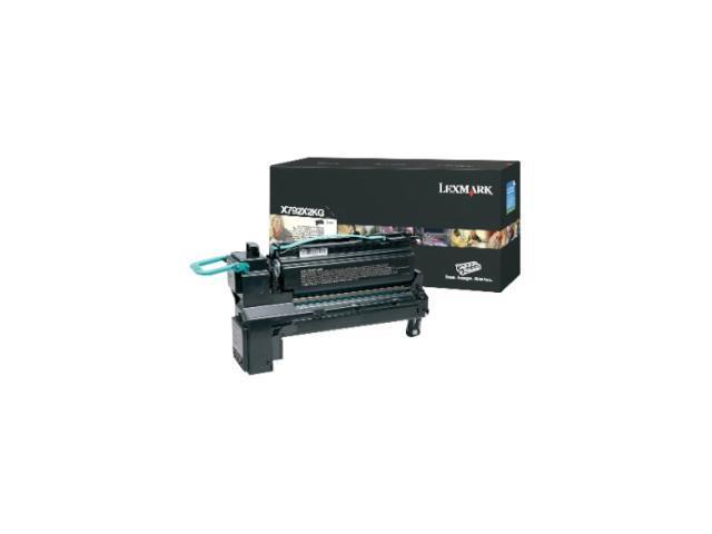 Lexmark X792X2KG Toner Cartridge - Black