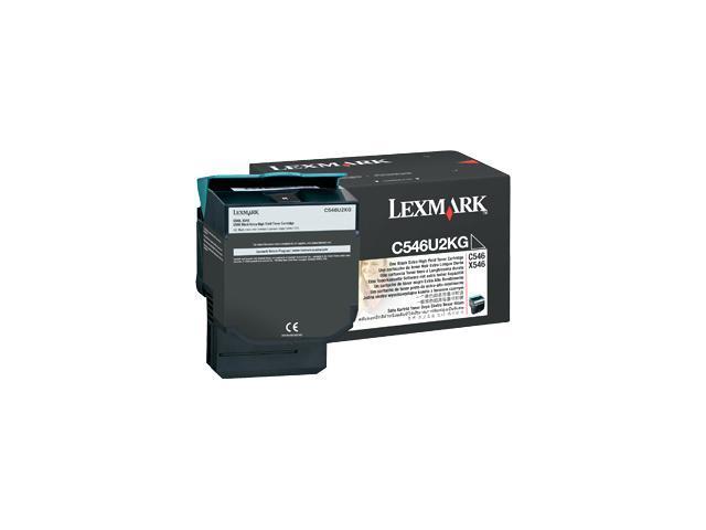 Lexmark C546U2KG Toner Cartridge - Black