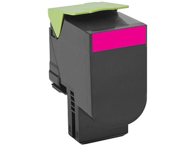 LEXMARK 70C1XM0 701XM Magenta Extra High Yield Return Program Toner Cartridge Magenta