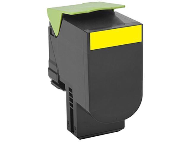 LEXMARK 70C1XY0 701XY Yellow Extra High Yield Return Program Toner Cartridge Yellow