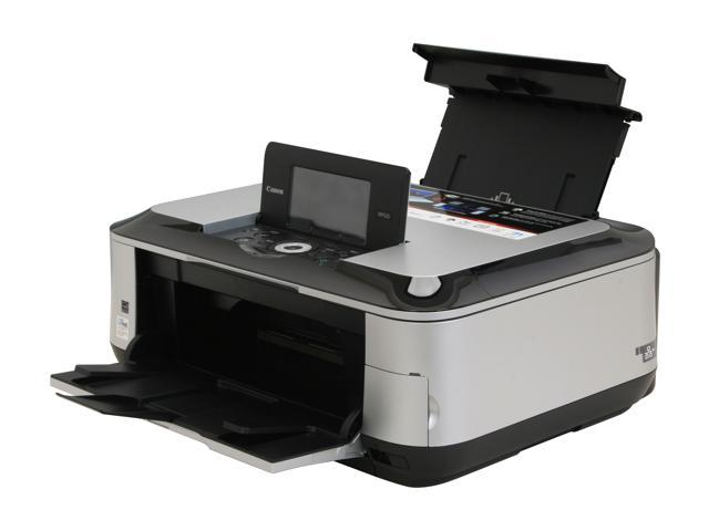 Canon PIXMA MP620 2921B002 Up to 26 ppm Black Print Speed 9600 x 2400 dpi Color Print Quality Wireless InkJet MFC / All-In-One Color Printer