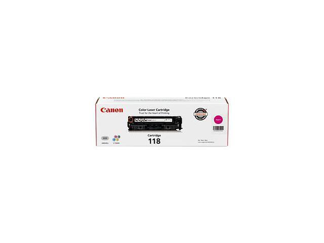 Canon 118 2660B001AA Toner Cartridge Magenta
